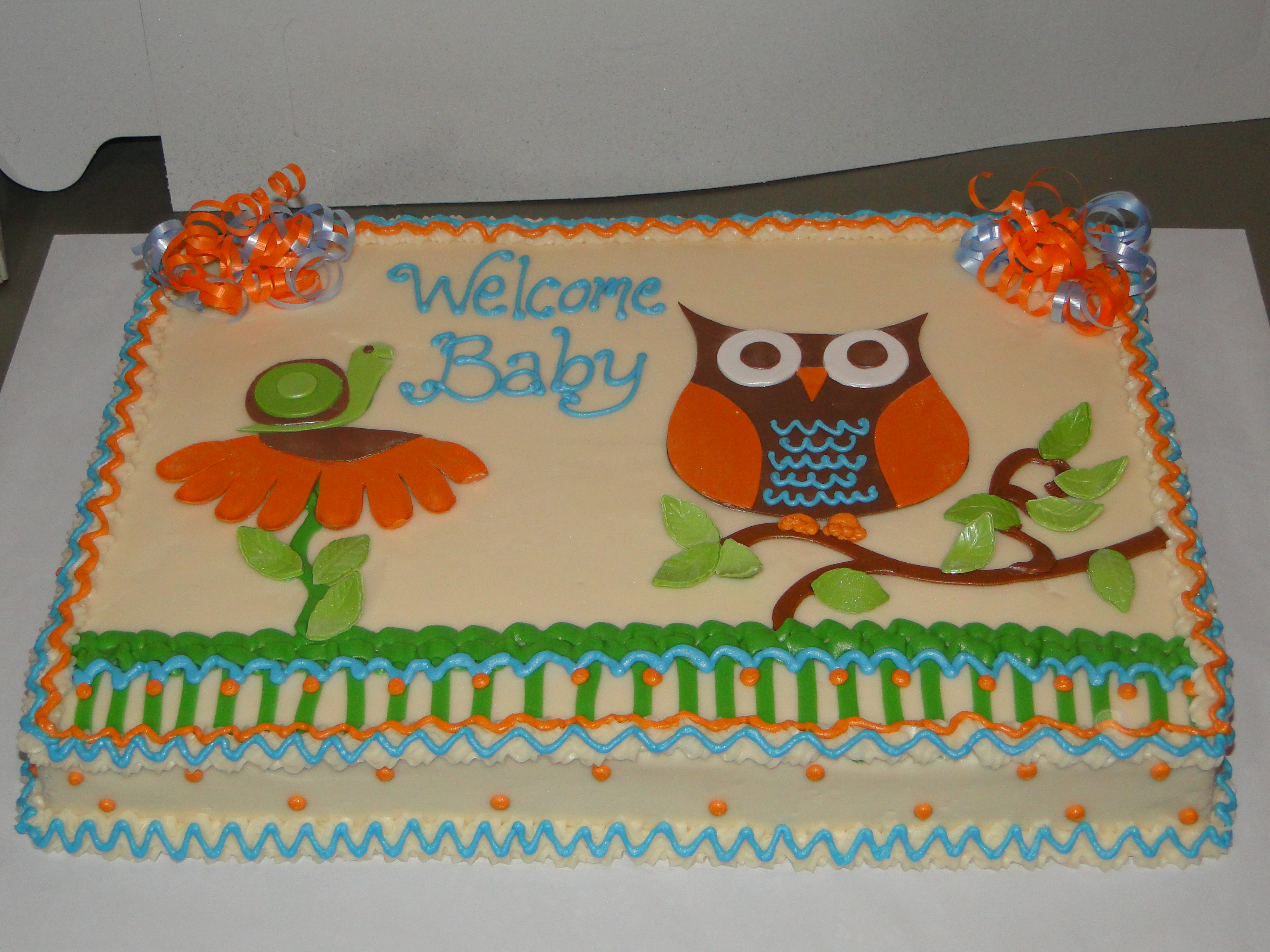 Hoot Cake Images