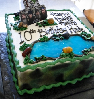 Duck Dynasty Cakes